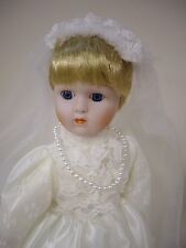 """The Heritage Mint Ltd. Bride Doll, 15 1/2"""" inches"""