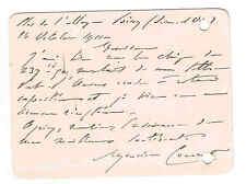 """LE PEINTRE MAURICE COURANT A VENDU SON TABLEAU """"PORT D'ANVERS"""" EN 1911"""