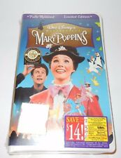 WALT DISNEY MASTERPIECE MARY POPPINS ON VHS NEW SEALED