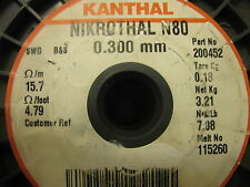 KANTHAL nickel-chromium 0.3MM Nikrothal 80 Resistance heating wire 5 METER!!!