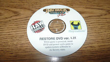 BIG BUCK HUNTER PRO RAW THRILLS  RECOVERY DISK DVD V1.25