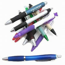 Wholesale Bulk Lot of 1000 Misprinted Plastic Retractable Pens+ Free Shipping!
