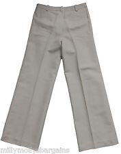 New Womens Beige Cotton & Linen NEXT Tailored Trousers Size 12 RRP £32 DEFECT