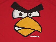 Angry Birds Short Sleeve SS T Shirt Adult XXL 2XL Red Graphic Tee 100% Cotton