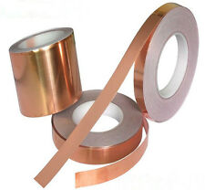 10mm*20m 1Roll  EMI Copper Foil Shielding Tape Conductive Self Adhesive Barrier