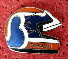 PIN'S CASQUE PILOTE INDY F 1 FORMULA ONE USA BIRIGUI EGF MFS