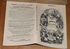Godey's Lady's Book - January 1862 - Reprint Fashion Monthly