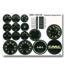 24015 Classic GMC Truck (1954-59) Gauge Decal Kit-GMC