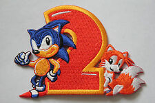 Sonic y Tails (Sonic The Hedgehog 2) Bordado Parche (7.5cm X 10cm)
