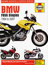 BMW F650 F650GS Funduro Dakar Strada Singles 1994-2007 Haynes Manual 4761 NEW