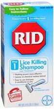 RID Lice Killing Shampoo 4 oz (Pack of 4)