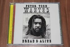 Peter Tosh - Wanted Dread & Alive (2002) (CD) (7243 5 37693 2 1) (Neu+OVP)