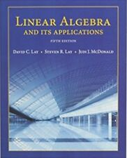 4DAYS DELIVERY - Linear Algebra and Its Applications, 5th ed. by David C. Lay