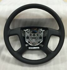 08-16 Chevy Express Van GMC Savanna OEM Black Vinyl Steering Wheel w/o Cruise