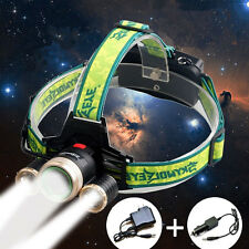 20000Lm Cree XML 3x T6 Rechargeable LED Headlamp Headlight Skywolfeye Head Light