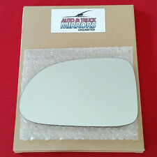 NEW Mirror Glass + ADHESIVE 98-03 DODGE DAKOTA DURANGO Driver Left Side LH