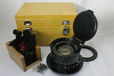 Nikon Apo-NIKKOR 360mm F9 Enlarger Lens set with Box AS-IS from Japan