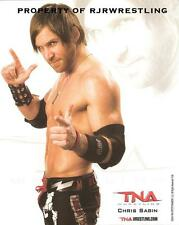 TNA WRESTLING CHIS SABIN UNSIGNED 8x10 PROMO PHOTO P-89 WWE MMG NXT X DIVISION