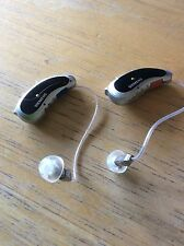 Pair of Siemens Pure 5 Micon digital hearing aids