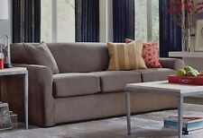 Ultimate Stretch Chenille Slipcover by sure fit sofa 3 cushion Gray