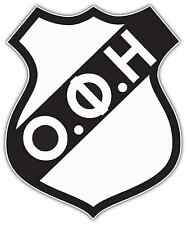 "OFI Crete FC Greece Football Soccer Car Bumper Sticker Decal 4""X5"""