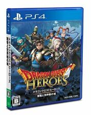 Used PS4 Dragon Quest Heroes yamiryu to sekaijyu no shiro Japan Import F/S