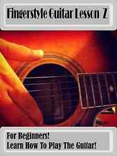 Learn Fingerstyle Guitar with Fingerstyle Lesson Z DVD+bonus items!