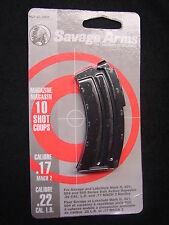 Savage Mark II 501 504 900 Series Blue Magazine 10 Rd 17 Mach 2 / 22 LR #20005