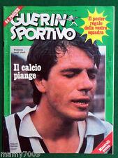 GUERIN SPORTIVO=N.3 1976=DOPPIO INSERTO FILM DEL CAMPIONATO=NO POSTER=BETTEGA