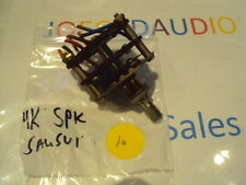 Sansui 4000 Original Speaker Selector Switch. Tested. Parting Out Model 4000.