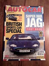 AUTOCAR MAGAZINE 06-MAY-98 - Volvo V70R AWD, BMW 540i Touring E39, TVR Chimaera