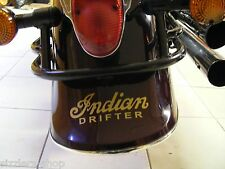 Front or Rear Fender back decal Kawasaki Drifter Indian Motorcycle chief GOLD