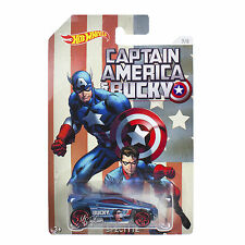 NEW Mattel Hot Wheels 1:64 Die Cast Car Marvel Captain America & Bucky SPECTYTE