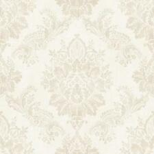 New Rasch - Bloomsbury Damask - Cream - Luxury Textured Wallpaper 204803