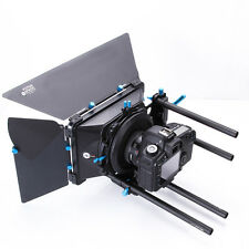 FOTGA DP3000 PRO Cameras Swing Away Matte Box for 15mm Rod DSLR Rail Support Rig
