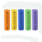 1 pc AA 3000mAh Ni-MH 1.2V Rechargeable Battery 5 Color For Toy RC Solar Light