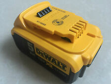 NEW DEWALT BATTERY DCB184 18V 5.0AH XR LI-ION BATTERY