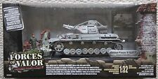 Forces OF VALOR CARRI ARMATI 80317 Tedesco Panzer IV TANK 1/32/Dragon King Country