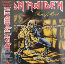 Piece of Mind by Iron Maiden (Vinyl LP, 2012 EMI, Limited Edition, Import)