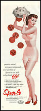 1951 vintage ad for Spun-Lo women's undergarments