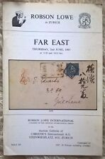 Auction Catalogue Robson Lowe - strong sections of FOREIGN POST OFFICES IN CHINA
