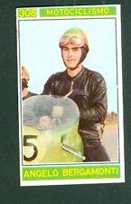 Figurina Campioni dello Sport Panini 1967-68 n.308! Bergamonti! Nuova da Bustina