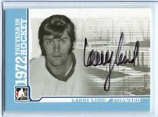 ITG 1972 The Year in Hockey  Autograph  #A-LL  Larry Lund