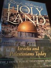 RICK STEVES The Holy Land Israelis And Palestians (DVD) Fast shipping