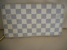 AUTHENTIC LOUIS VUITTON DAMIER AZUR ZIPPY ORGANIZER WALLET CLUTCH