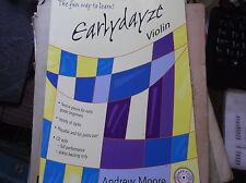 Partituras Principiantes Violín & Piano Piezas earlydayze 12 piezas de manera divertida de aprender