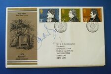 1971 LITERARY ANNIVERSARIES FDC SIGNED BY SIMON NYE [ MEN BEHAVING BADLLY ]