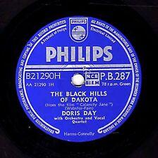 1954 DORIS DAY 78 BLACK HILLS OF DAKOTA /JUST BLEW IN FROM THE WINDY CITY EX/EX-