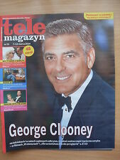 Tele Magazyn 10/2014 GEORGE CLOONEY on front cover