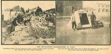 1907 The Devastating Earthquakes In Italy Homeless Persons Temporary Shelter